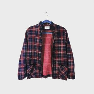 3/$25 VINTAGE Plaid Blazer with Pockets!